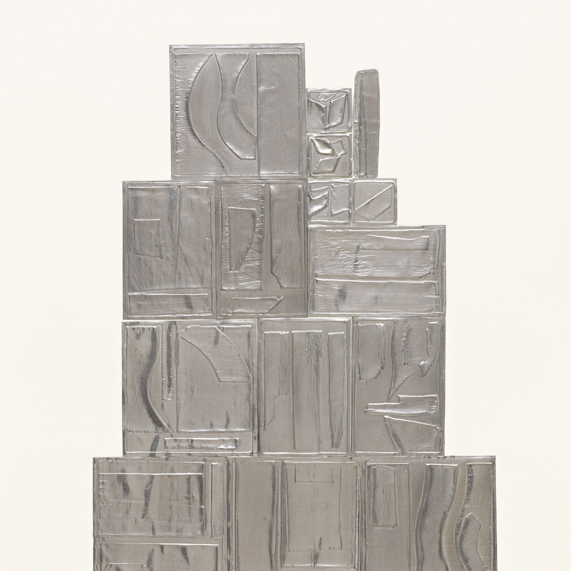 """The Great Wall"" (1970) by Louise Nevelson"
