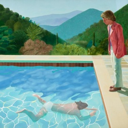 Private Collection © David Hockney. Photo Credit: Art Gallery of New South Wales / Jenni Carter.
