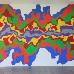 Sol LeWitt, Wall Drawing #1002: Splat, 2001