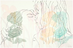 """Rose Runners"" (2008) by Ghada Amer and Reza Farkhondeh"