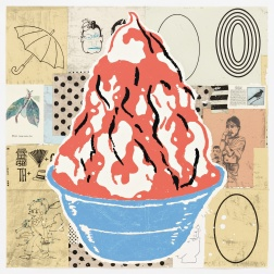 """Red Sundae (Well Fancy That)"" (2000) by Donald Baechler"