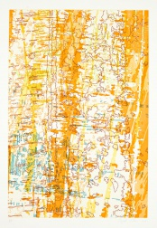 """Tracings from the Indianapolis Motor Speedway III"" (2009) by Ingrid Calame"