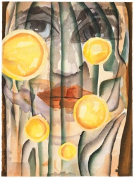 """Earth"" (2006) by Francesco Clemente"