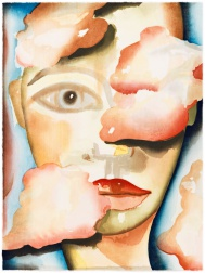 """Air"" (2007) by Francesco Clemente"