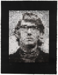 """Keith III"" (1981) by Chuck Close"