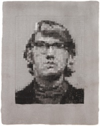 """Keith IV"" (1981) by Chuck Close"