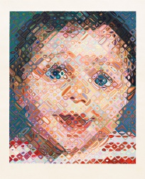 """Emma"" (2002) by Chuck Close"