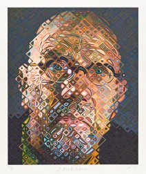 """Self-Portrait"" (2017) by Chuck Close"