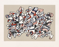 """Course La Galope"" (1976) by Jean Dubuffet"