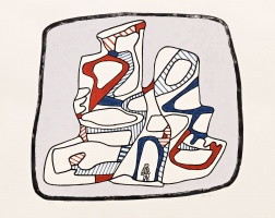 """Immeuble"" (1976) by Jean Dubuffet"