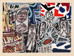 """Faits Memorables III"" (1978) by Jean Dubuffet"