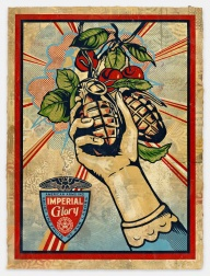 """Imperial Glory, HPM"" (2011-2012) by Shepard Fairey"