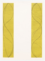 """Two Columns, A"" (2004) by Robert Mangold"