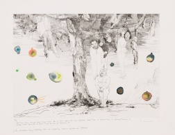 """Who Have Been Hanged From These Trees..."" (2008) by Santi Moix"