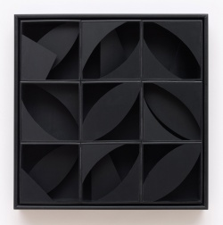 """Night Leaf: Multiples"" (1980) by Louise Nevelson"