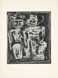 """Jungle Figures"" (1953-1955) by Louise Nevelson"