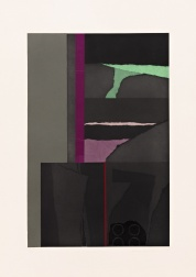 """Aquatint I"" (1973) by Louise Nevelson"