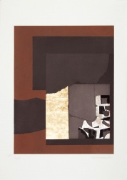 """Aquatint II"" (1973) by Louise Nevelson"