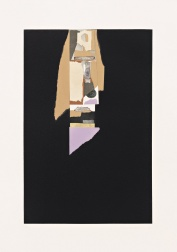 """Aquatint V"" (1973) by Louise Nevelson"