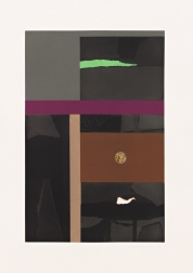"""Aquatint VI"" (1973) by Louise Nevelson"