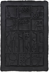 """Moon Garden (Black)"" (1976) by Louise Nevelson"
