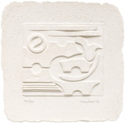 """Untitled"" (1985) by Louise Nevelson"