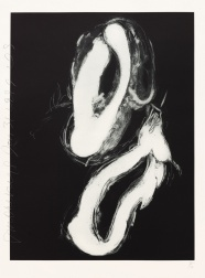 """Smoke Rings (1 of 2)"" (1999) by Donald Sultan"