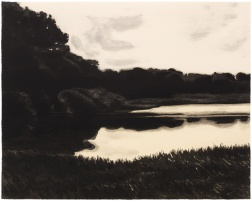 """Edge of the Pond"" (2004) by April Gornik"