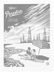 """Paradise Turns"" (2015) by Shepard Fairey"