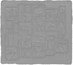 """Nightscape"" (1975) by Louise Nevelson"