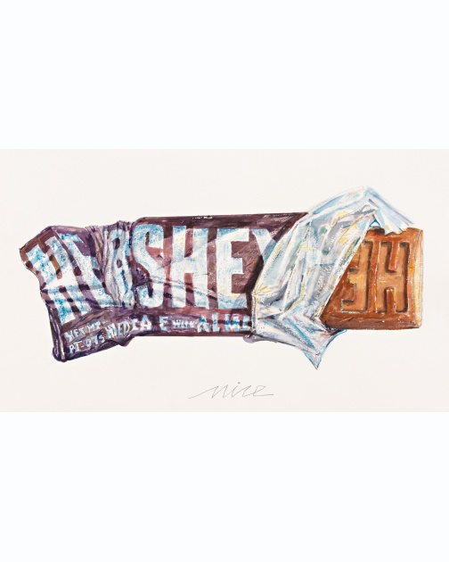 """Hershey Bar"" (2014) by Don Nice"