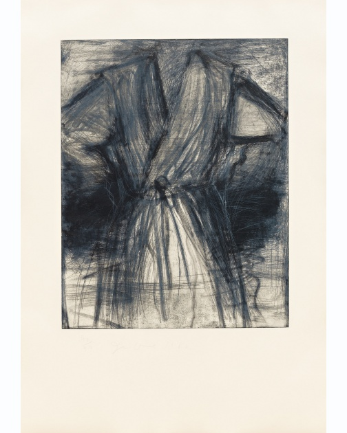 """Winter (Robe)"" (1980) by Jim Dine"