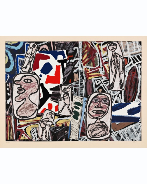 """Faits Memorables I"" (1978) by Jean Dubuffet"