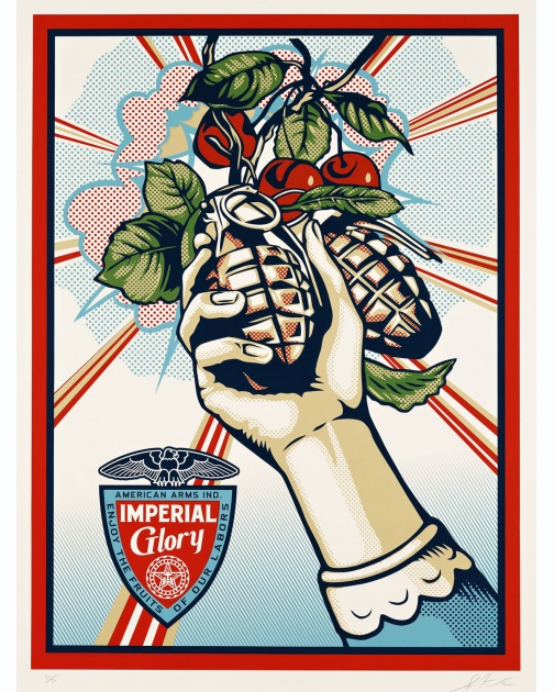 """Imperial Glory"" (2012) by Shepard Fairey"