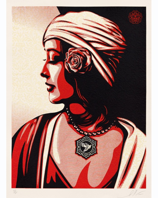 """Harmony"" (2012) by Shepard Fairey"