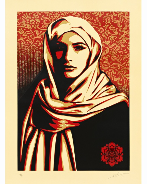 """Universal Personhood 1"" (2015) by Shepard Fairey"