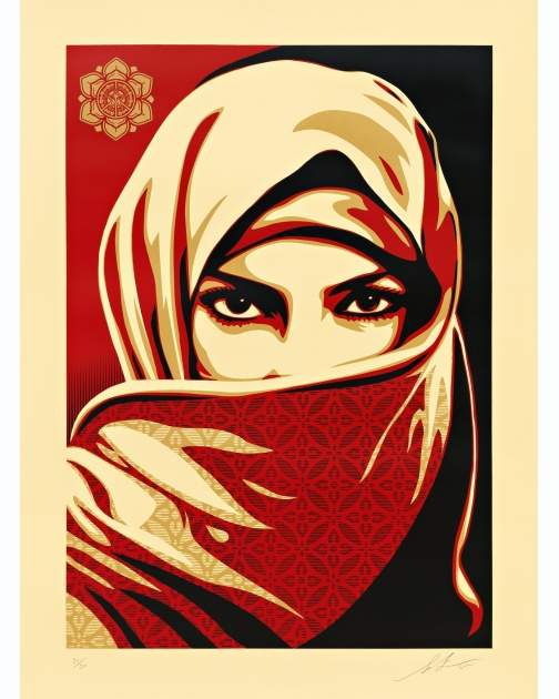 """Universal Personhood 2"" (2015) by Shepard Fairey"