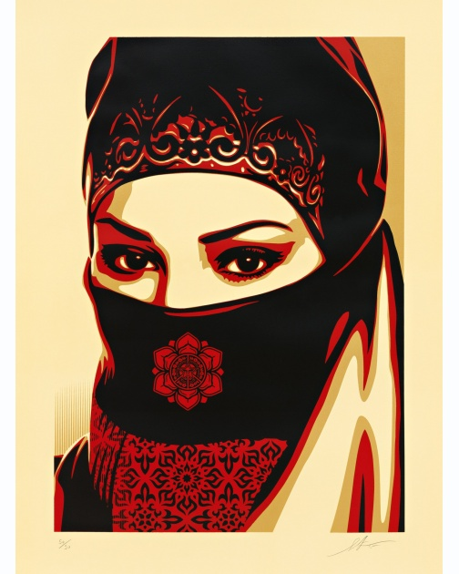 """Universal Personhood 3"" (2015) by Shepard Fairey"
