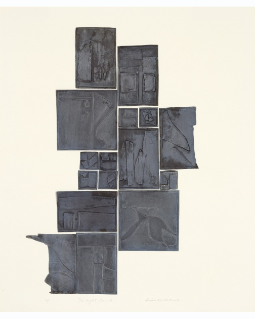 """Night Sound"" (1970) by Louise Nevelson"