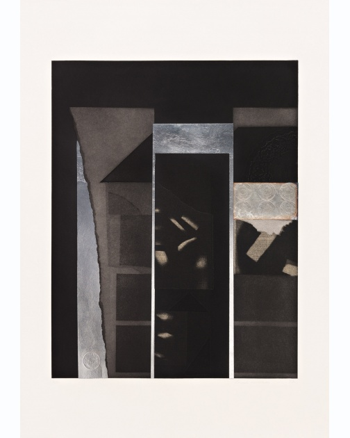 """Aquatint IV"" (1973) by Louise Nevelson"