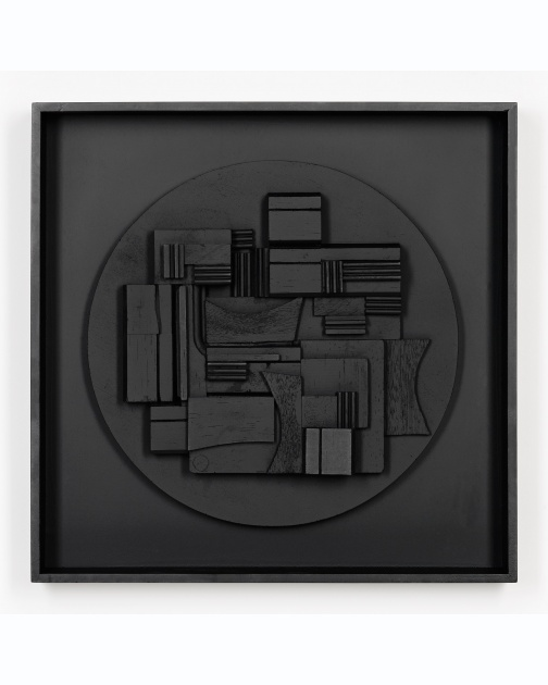 """Full Moon"" (1980) by Louise Nevelson"
