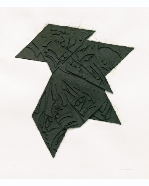 """Six Pointed Star"" (1980) by Louise Nevelson"