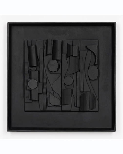 """Symphony Three"" (1974) by Louise Nevelson"
