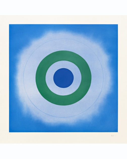 """Untitled"" (2009) by Kenneth Noland"