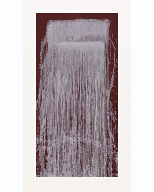 """Dragon Waterfall"" (2001) by Pat Steir"