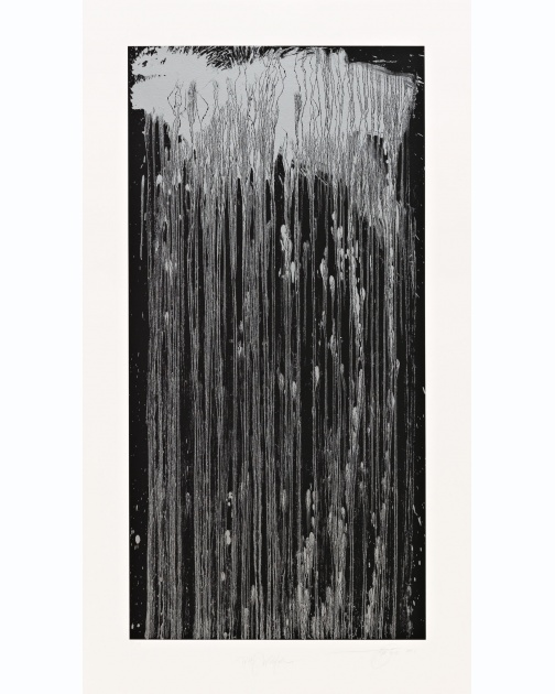 """Wolf Waterfall"" (2001) by Pat Steir"