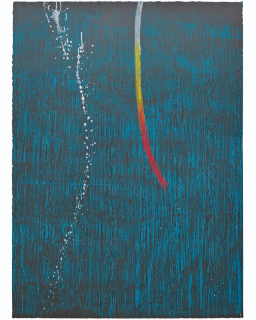 """Untitled 31"" by Pat Steir"