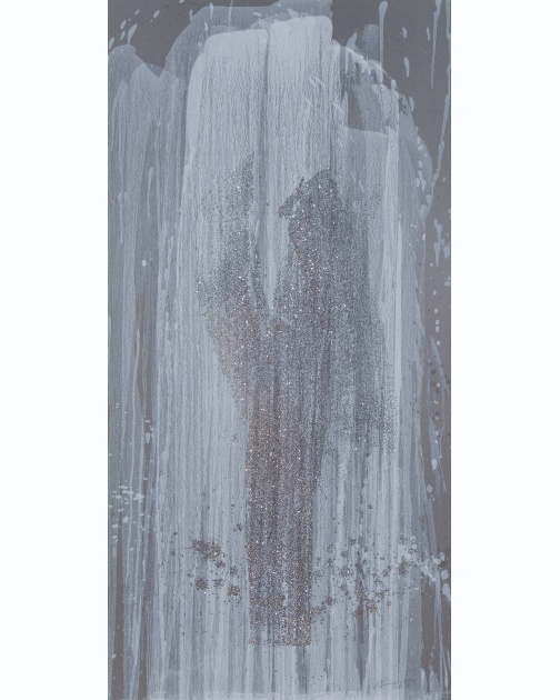 """Infinity 9"" (2008) by Pat Steir"