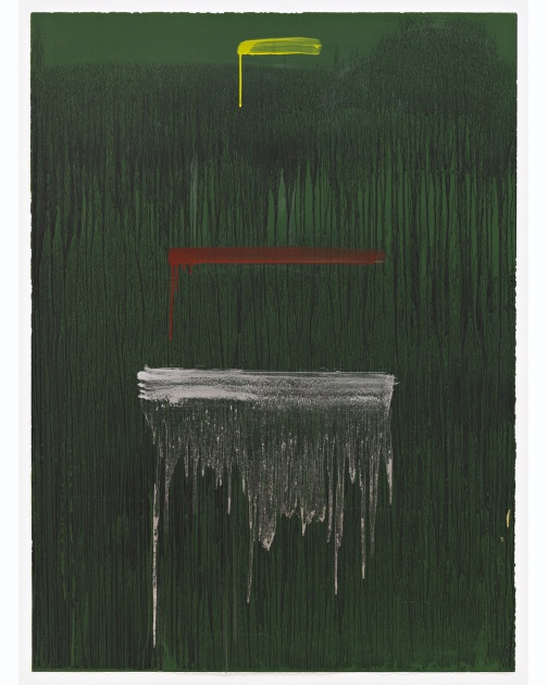 """Three Strokes"" by Pat Steir"