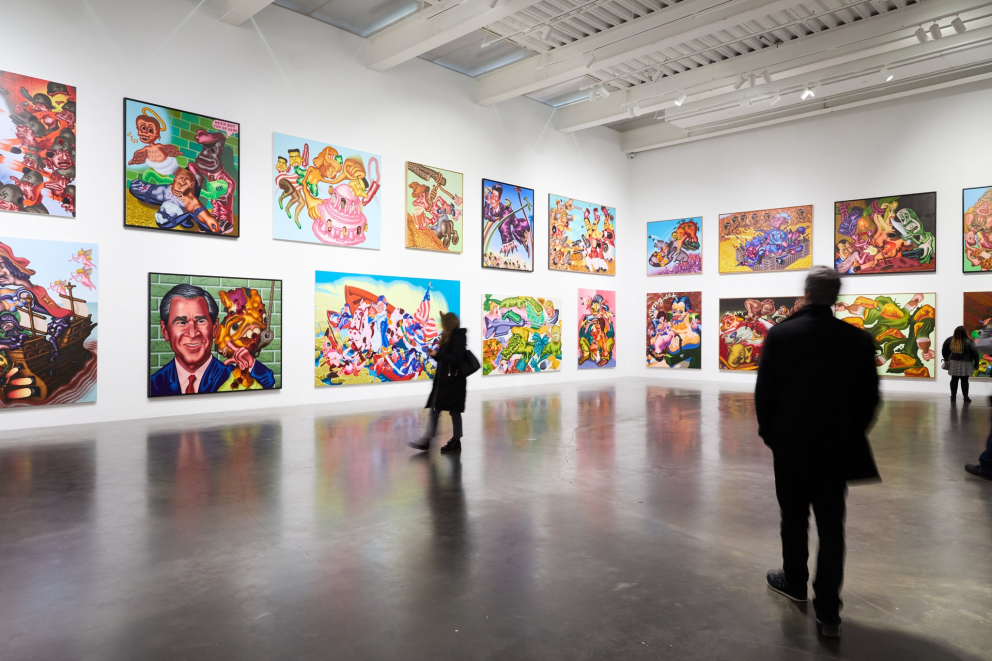 © Peter Saul/Artists Rights Society (ARS), New York. Photo: Winnie Au for The New York Times